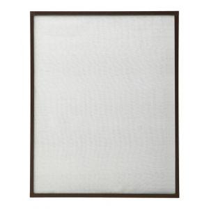 VidaXL Moustiquaire pour fenêtre Marron 90x120 cm