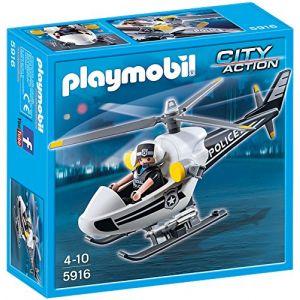 Playmobil 5916 City Action - Hélicoptère de police
