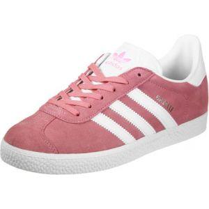 Adidas Gazelle J - Chaussures de Fitness - Mixte Enfant - Rose ((Rossen/Ftwbla/Ftwbla)) - 36/37