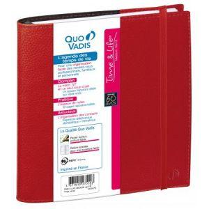 Quo Vadis 540007Q - Agenda 16x16 Time & Life Medium