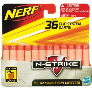 Hasbro Recharge Nerf N-Strike Clip System (36 fléchettes)