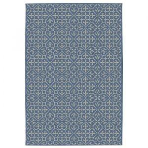 carlton tapis de salon relax 1 bleu bleu et laine - Tapis De Salon Bleu