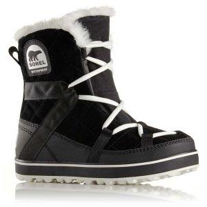 Sorel Bottes neige GLACY EXPLORER SHORTIE Noir - Taille 37,38,40