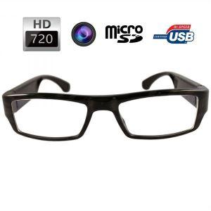 Yonis Y-lce3g - Lunettes de vue caméra espion HD 720P appareil photo Micro SD