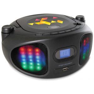 Metronic 477134 - Radio CD/ MP3/ USB Lumi