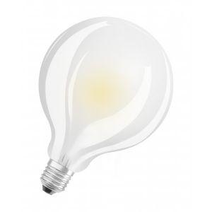 Osram Ampoule LED E27 globe dépolie 11 W équivalent a 100 W blanc chaud