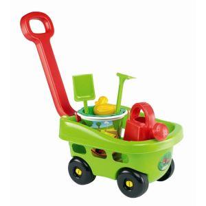 Ecoiffier Chariot de jardin garni