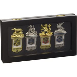 The Noble Collection 4 marques-pages Poudlard Harry Potter