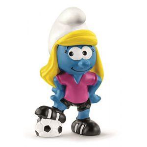Schleich Figurine Schtroumpfette footballeuse