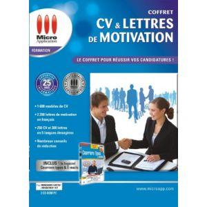 CV & Lettres de motivation : Le coffret pour réussir vos candidatures [Windows]