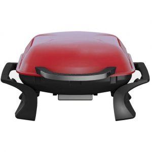 Image de Qlima Gril à charbon portable 37x53cm rouge PC 1015