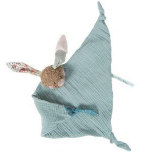 Moulin roty Doudou plat lange lapin Les jolis trop beaux (35 cm)