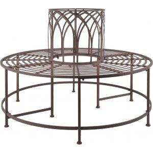 Esschert design MF012 - Banc de jardin arbre en métal