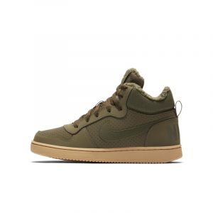 Nike Chaussure Court Borough Mid Winter pour Enfant plus âgé - Vert - Taille 36.5