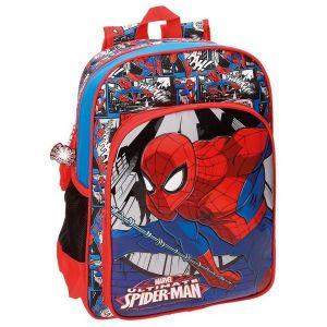 Sac à dos Spiderman Jump 38 cm CP/CE1 Bleu