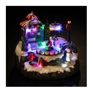 Village de Noël lumineux Boutique de Noël
