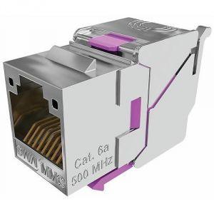 Multimedia Connect BC6AFSTL8 - Connecteur RJ45 BC catégorie 6A blindé 360° sans outil