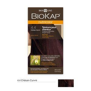 Image de Biokap Nutricolor châtain cuivré - Teinture pour cheveux longue tenue