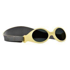 Beaba Lunettes de soleil bandeau jaunes (Taille XS : naissance)