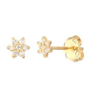 Or éclat EI937111J - Boucles d'oreilles pour femme en or