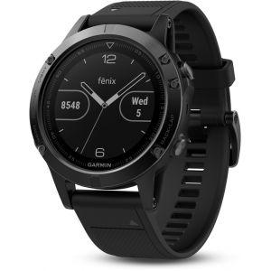 Garmin Fenix 5 Saphir noir avec bracelet noir 47mm