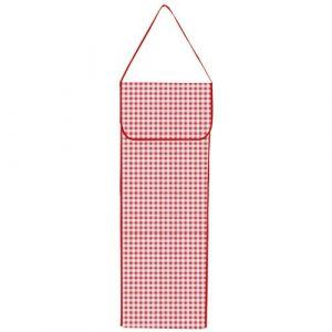 Bonita Sac à pain Vichy rouge - toile cirée - Boîte à pain, Sac à pain, Huche à pain