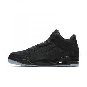 Nike Chaussure Air Jordan 3 Retro Flyknit pour Homme - Noir - Taille 44.5