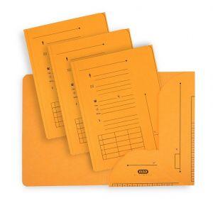 Elba 100330150 - Sous-dossier Ultimate chemise HV 2 rabats, lot de 25, A4 kraft jaune