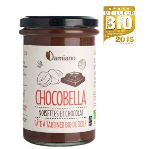 Damiano Chocobella Pâte à Tartiner Noisettes et Cacao Bio - 365g