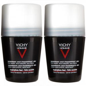 Vichy Homme - Déodorant anti-transpirant & anti-irritations 48h