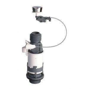 Wirquin Mécanisme de chasse MD2 NF à câble et poussoir simple débit