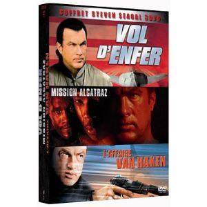 Coffret Steven Seagal - Vol d'enfer + Mission Alcatraz + L'affaire Van Haken