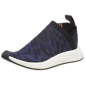 Adidas Originals Baskets NMD_CS2 Primeknit Femme Bleu Marine - Taille UK 7