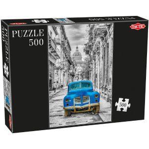 Tactic Puzzle Voiture rétro 500 pièces