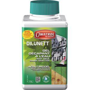 Owatrol Dilunett Gel décapant tous supports sans grattage phase aqueuse Durieu