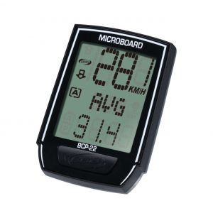 BBB cycling Compteur ''MICROBOARD'' 13 fonctions filaire Noir