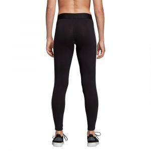 Adidas W E 3S Tight Pantalons de Compression Femme, Noir/Blanc, FR (Taille Fabricant : XS)