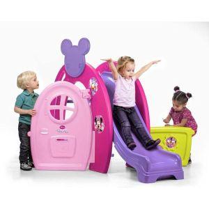 Feber Maison de jardin Minnie Bowtique Slide House - Comparer avec ...