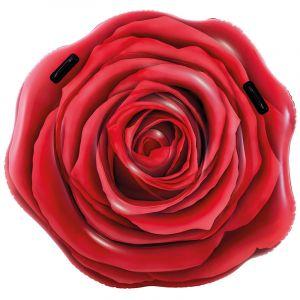 Intex Matelas gonflable - rose rouge - l 137 x l 132 cm