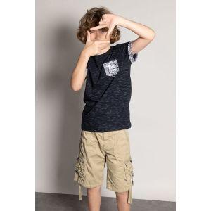 Deeluxe T-shirt enfant SHAMAR Bleu - Taille 10 ans,12 ans,14 ans