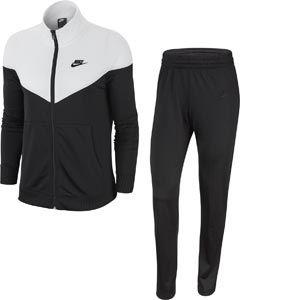 Nike W NSW TRK Suit PK Survêtement Femme, White/Black, FR : M