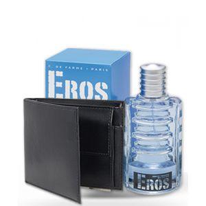 Corine de Farme Eros Cool - Coffret eau de toilette et portefeuille