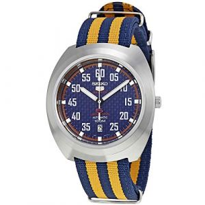 Seiko Montre les Hommes 5 Sports Retro Automatic Limited Edition SRPA91K1