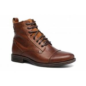 Levi's Emerson, Bottes et Bottines Motardes Hommes, Marron (Medium Brown 27), 45 EU