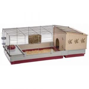 Ferplast Cage pour lapins Krolik 140 Plus 142 x 60 x 50 cm 57072570