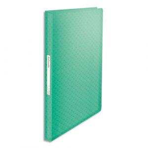Esselte Protège-documents Colour'Ice - polypropylène 5/10ème - 80 pochettes - 160 vues - vert