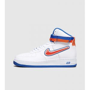 Nike Chaussure Air Force 1 NBA High (New York Knicks) pour Homme - Blanc - Taille 44