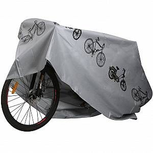 Trixes Bâche Grise D'extérieur Pour Moto Vélo Résistante Aux Intempéries
