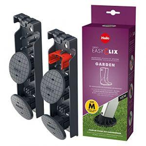 Hailo Jeu de pieds de remplacement d'échelle EasyClix Garden M 9948-101