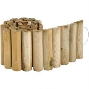 Jardipolys 0214496 - Bordure First en bois à dérouler